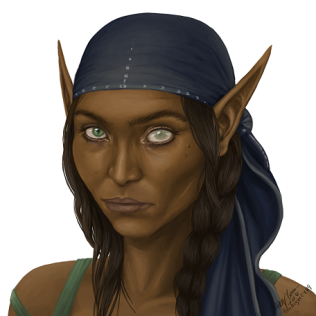 dark elf portrait - Copy